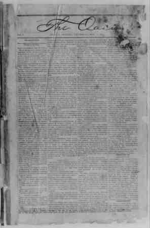 The Oasis Gazetesi 11 Mayıs 1893 kapağı