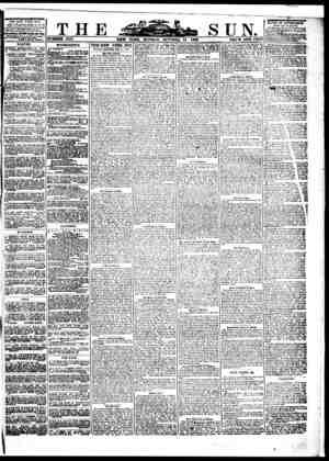 The Sun Gazetesi 24 Ekim 1859 kapağı