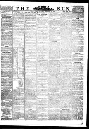 THE NEW YORK SUN, TMxtahed Pally, (Sunday aaeepeect, ow waleh burton hunr la received., M the old Sua ftvtldlnn. eerrjerof