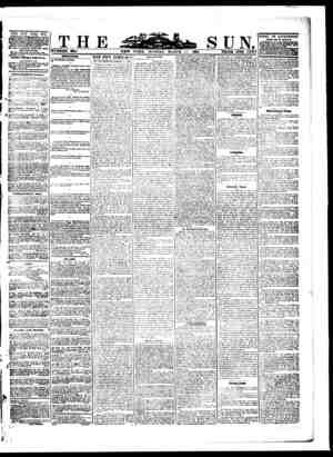 fe .THE NEW YORK SUN, TjiblWisrI Daily, Qvm&eyi sroepttd, on wMch ma unness whatever l raoadvwdj l tha Oli a. BolMiua. mm of