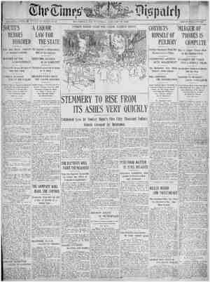 The Times Dispatch Gazetesi 27 Ocak 1903 kapağı