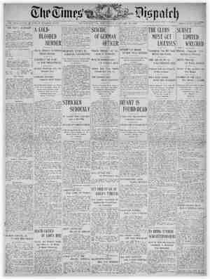 The Times Dispatch Gazetesi 29 Ocak 1903 kapağı