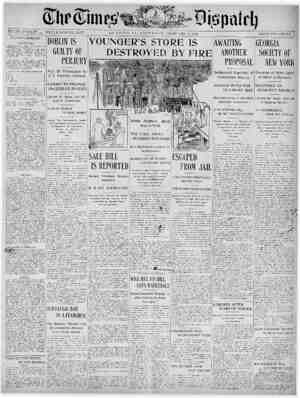 The Times Dispatch Gazetesi 4 Şubat 1903 kapağı
