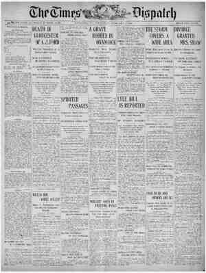 The Times Dispatch Gazetesi 5 Şubat 1903 kapağı
