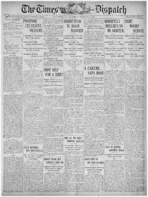 The Times Dispatch Gazetesi 7 Şubat 1903 kapağı