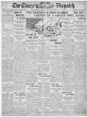 The Times Dispatch Gazetesi 10 Şubat 1903 kapağı
