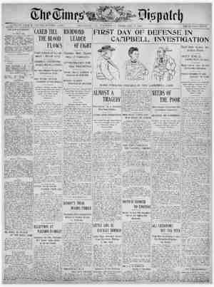 The Times Dispatch Gazetesi 11 Şubat 1903 kapağı