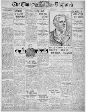 The Times Dispatch Gazetesi 13 Şubat 1903 kapağı