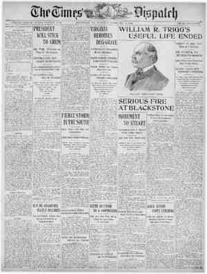 The Times Dispatch Gazetesi 17 Şubat 1903 kapağı