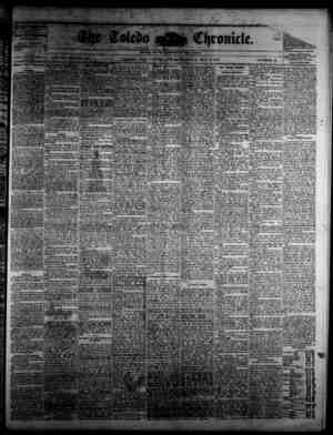 The Toledo chronicle Gazetesi May 2, 1878 kapağı