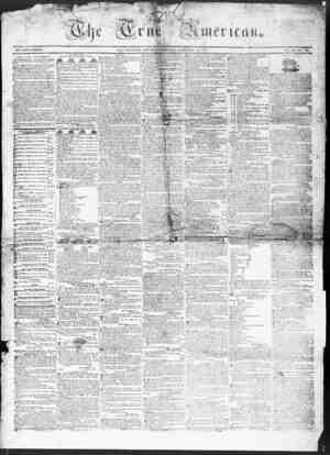 True American Gazetesi February 25, 1837 kapağı