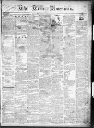 True American Gazetesi March 11, 1837 kapağı