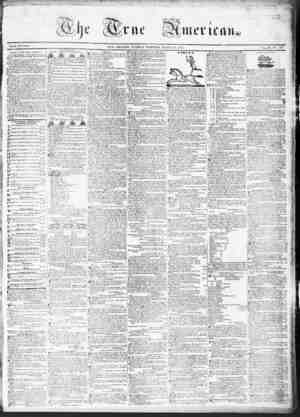 True American Gazetesi March 14, 1837 kapağı