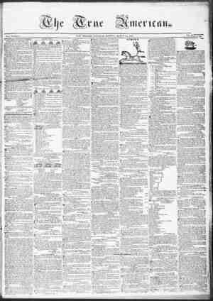 True American Gazetesi March 18, 1837 kapağı
