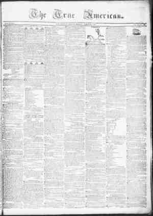 True American Gazetesi March 20, 1837 kapağı
