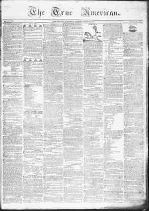 True American Gazetesi March 29, 1837 kapağı