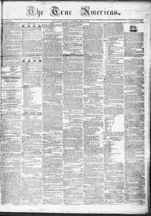 True American Gazetesi April 14, 1837 kapağı