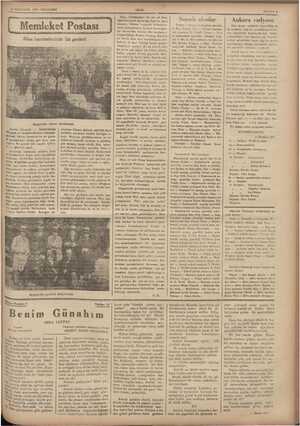 GİLKKANUN 1934 PERŞEMBE eeet Postası Gezginciler tiyetro Darabesinde - Aydın, (Hususi) — Halkevimizin tarih ve edebiyat...