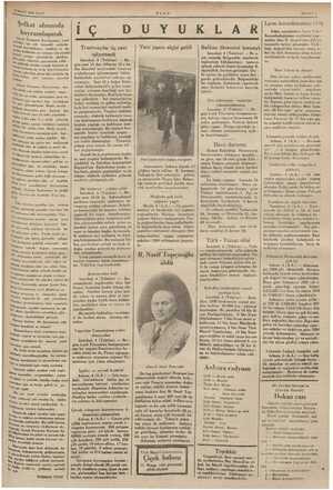 """SMART 1935 SALI ULUŞ """" SAYIFA 3 Şefkat alanında ıl'dyramlaşmuk """"'ıuı.,k Esirgeme Kurumunun; yurd 'h's'in çok  küymetli..."""