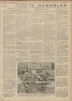 15 TEMMUZ 1935 PAZARTESİ Dl'lşlîı'rlll'ş!vr Kitablar ve kitabevleri Nüfusumuza nisbotle — kitablarımıe aa satış azlığından