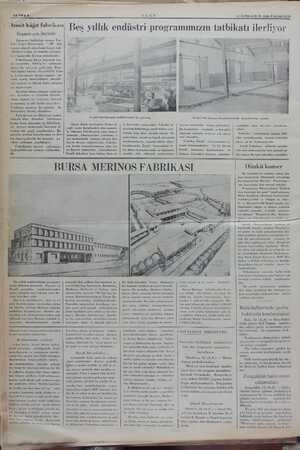 """""""rinin inşaatı ay sonunda bitecek O dir. SAYIFA & """"izmit kâğıt fabrikası İnşaatı çok ilerledi İşlemeye başladığı zaman Tür-"""