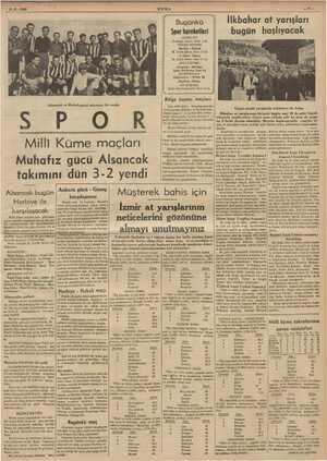 Alsancak ve Muhafızgücü takımları bir arada > PU K Milli Küme maçları Muhafız gücü Alsancak Alsancak bugün Bugünkü Spor...