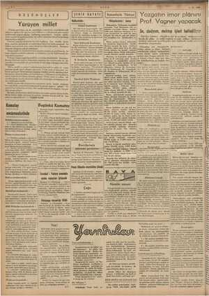 ç SE isi i. © © mun lâyihası müzaker: ri i B.'U.Ş BN 0 ŞE ER Yürüyen millet Fransız gazeteleri, sık sık endüstri,...