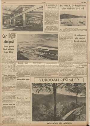 ULUS 9-6- 1938 Bu sene ipekçilikten iyi randıman alınacak (Hususi) — i a mleketin muh- eli ipekçilik Emi gelen Bu sene K. D.