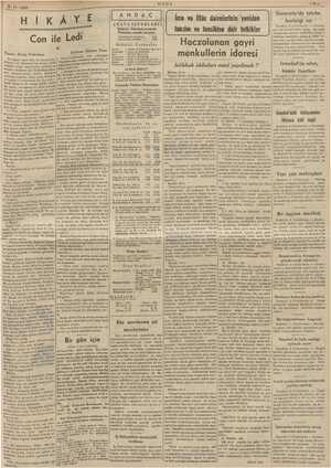"""9-11. 1938 — Hİ K Ge dik Bi """" ii Ü yar T MM pa e iğ ULUS iy Üniversite'de talebe var A RAS İcra ve İflâs dairelerinin..."""