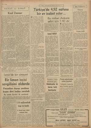 6-3. 1939 >, 00 | HAYAT ve SIHAT vi Kızıl Zünnar rirse deo kadar külfete değmez. Mİ gün, bir taraftan e imdir aşi tarafa