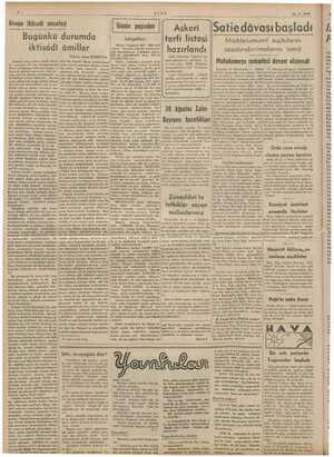 İLE ULUS 24.8 -1939 , Günün iktisadi meselesi Günün peşinden dâvası Müddeiumumi suçluların cezalandırılmalarını istedi...