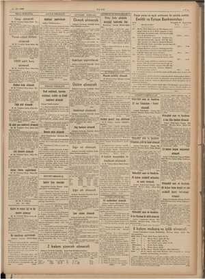 «e - 12. 1939 ULUS —7— di Peşin para ve açık arttırma ile satılık emlâk i İ Emlâk ve Eytam Bankasından : p E Mukaddı & Doya