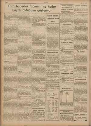 29-12-1939 ULUS l a l yaptırılacak Ko Kara haberler facianın ne kadar Müteahhit nam ve büyük olduğunu gösteriyor