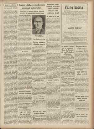 ini N 8/12/1940 ULUS Bitaraflığını idame, emokrasi ve istiklâlini POLİTİKA ? Kızılay Ankara merkezinin Avam Kamarasında