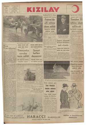|| subayının katlı üzerine Fransa'da elli rehine idam edildi Nantes'ta şiddetli tedbırler alındı karşılık olmak üzere Yeniden_S_O rehine idam edilecek De Gaulle fransızlara sükün tavsiye etti Paris, 24 Künkl Paris güzes eri kumandane