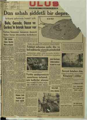 """ma 2 Telefon ŞUBAT Başyazarlık 87İ K 1944 Yazı İşleri Müdürü ; """"1061 M 1144 Yazı İşl 1 İdare 1064 ii Ankara şehrinde hasar"""