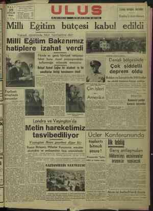 İsaLıJanru LUS mara i Çankırı Caddesi Ankara ii 2 ZE ai Es E Z Kızılay'a âza olunuz 5 | 5 kuruş | üz, üm we Abone İşleri