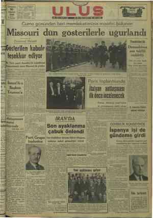 - Uy n GH.P. ULUS MÜESSESESİ Çankırı Caddesi Ankara :10 ee ! ğ 131. sasi NİSAN Çizer napa 0   1946 Yazı Işleri Müdürlüğü ©