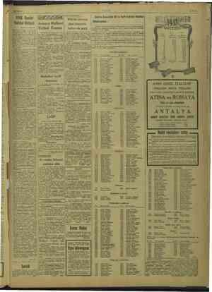 GE ULUS 1948 Devlet Varidat ela (Başı 3 inci sayfada) ileri senesi altin rl deri. ki emi © imi 2947 ve ie şimdiki 93. milyol