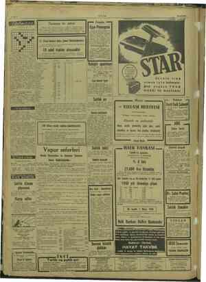 Tertibeden; Mu, Yu. 23 ARALIK 1947 SALI Salılık Alman nüfus ULUS — 20 uncu yıl No, 8499 Sahib daparta, Miltvekii Kemal TUİ dn