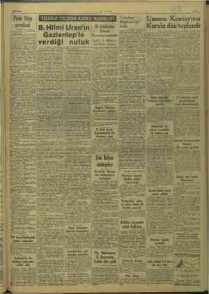 """N Ni 10/5/1949 e > Pembe Kitap yayınları Başı""""1 inci sayfada eN yazılan önsözünde söy- Je denilmektedi Demokrasinin temeli"""