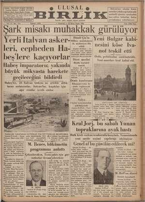 Sahibi ahibi : HAYDAR RÜŞDÜ ÖKTEM Neşriyat Müdürü : HAMDİ Adres : İzmir İkinci Beyler Sokağı Abone şartları: Seneliği 700,