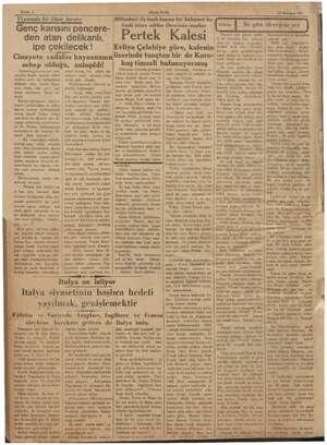 Sahife 2 Viyanada bir idam kararı: EY ZAR ARL Genç karısını pencere- den atan delikanlı, ipe çekilecek ! Cinayete ci cadalos