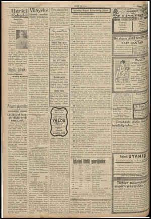Harici Haberler Amerika Papanın hükümetin: tanımayacak Vaşingtondan Şikago Tri- bun gazetesine verilen ma- lümata gö- re Ame