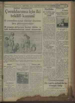 """İrnnta. 1 İlmat jet eg 5 z Fs iin vi - Bali âl 22 > """"S7 ZVAKTII. $ Künanevel 1929 —' k *"""" VAKT IN SEHİR VE MEMLEKET..."""