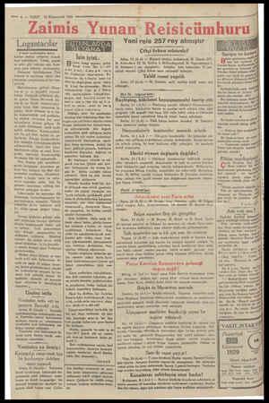 — 4 — VAKIT. 16 Kânunevvel 1929 - Zaimis Y Logantacılar Ea RL NANE 3 üncü sayıfamızdan mabat kımları matlup nefasette burada