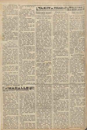 iz : — 2 — VAKIT 28 Haziran 1930 Türkive - Lehistan maçını idare | eden M, (Bavens) ten beri böyle | bir hakem görmemiştir.