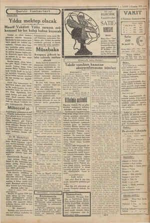 e PRİMA > 5 — VAKİT 5 Temnili 1939 K Şehir haberleri 3 ri | 1 ELEKTRİK VAKIT Maarifte | Vantilâtörleri Sİ s zommuz...