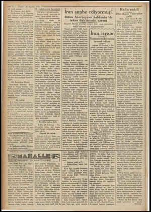 — 2 — lar teşkil etmiştir. Bir hanım aza daha Büyükadada VAKIT 24 Ağustos 193) | H. vekilimizin beyanatı mm S5. B. Hanımın |