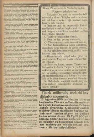 İ —.ç — VAKİT 30 Ağustos 1730 m e A amme w yi A p İ Devlet Demiryolları Hânları Şarkışla Sivas kısmının 1 Eylül tarihinden